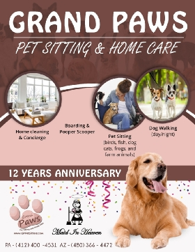 Grand Paws Pet Sitting & Home Care - Member Photo #2