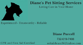 Diane's Pet Sitting Services - Member Photo