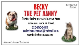 Becky The Pet Nanny, LLC - Member Photo