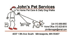 Pet Sitters in Minneapolis, Minnesota