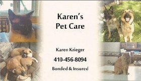 Pet Sitters in Jessup, Maryland