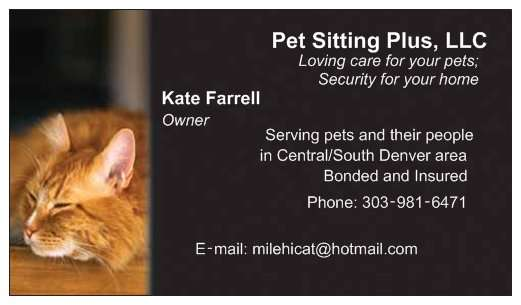Pet Sitting Plus, LLC - Member Photo