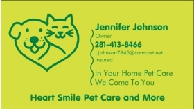 Pet Sitters in Cypress, Texas
