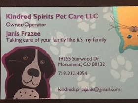 Kindred Spirits Pet Care LLC - Member Photo